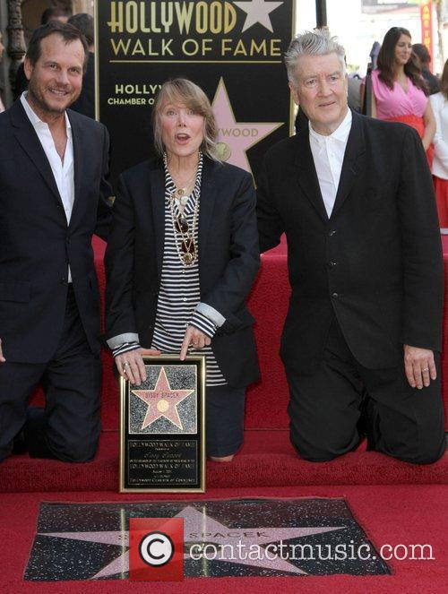 Bill Paxton, Sissy Spacek and David Lynch Sissy...