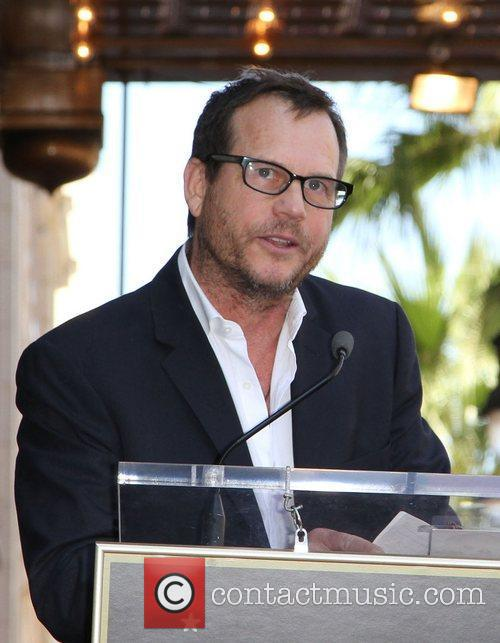 Bill Paxton speaks at the star ceremony for...