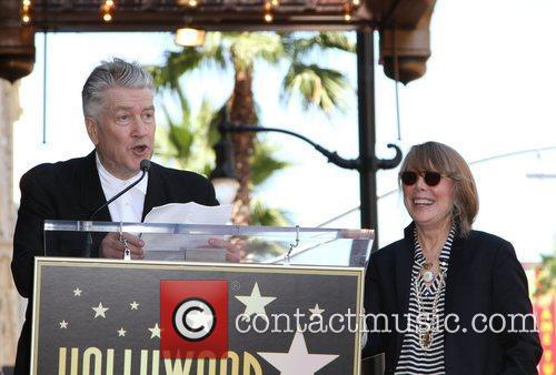 David Lynch and Sissy Spacek