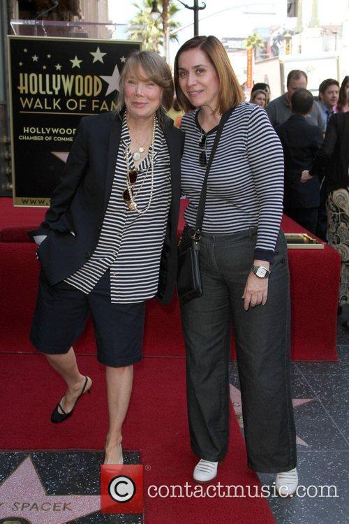 Sissy Spacek and Ana Martinez Sissy Spacek receives...