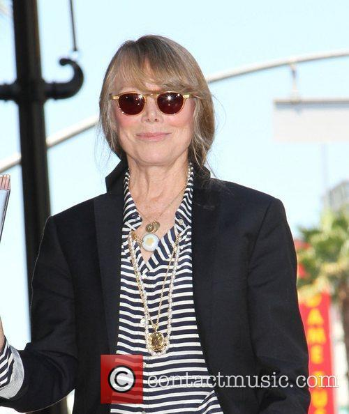 Sissy Spacek  receives a star on the...