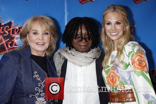 Barbara Walters, Elisabeth Hasselbeck and Whoopi Goldberg 2