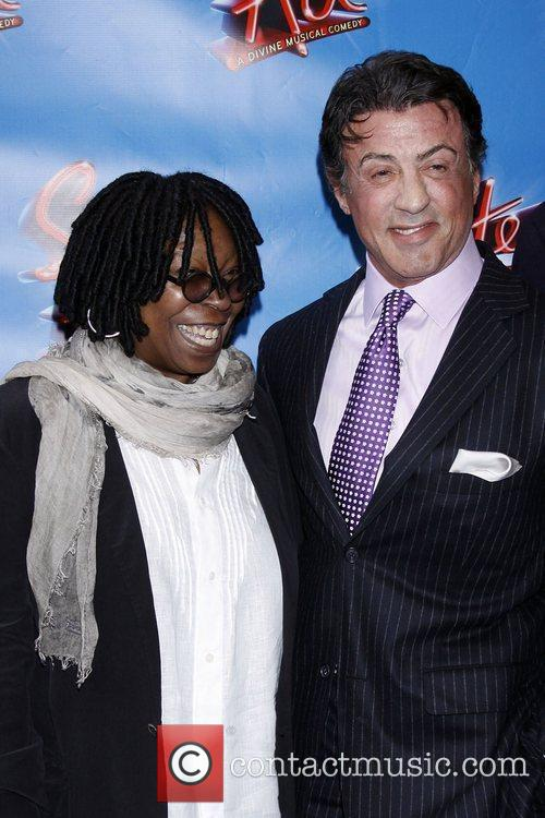 Whoopi Goldberg and Sylvester Stallone 8