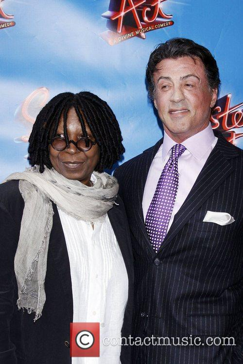 Whoopi Goldberg and Sylvester Stallone 1