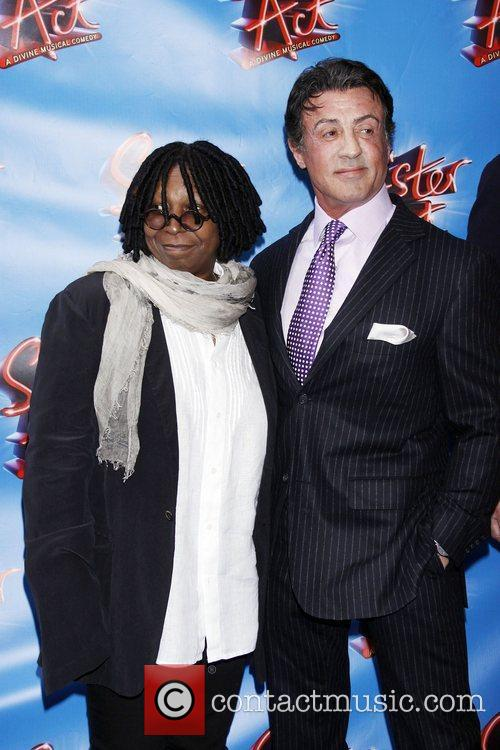 Whoopi Goldberg and Sylvester Stallone 7
