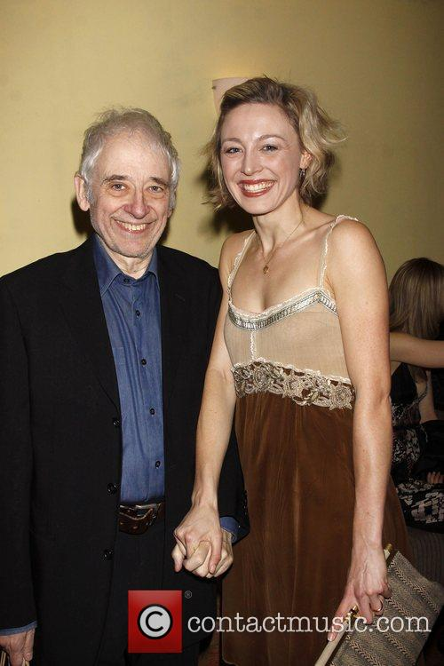 Austin Pendleton and Juliet Rylance Opening night after...