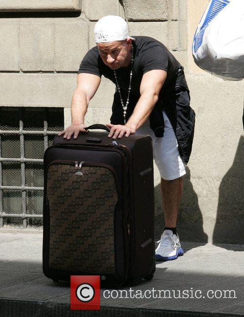 Mike 'The Situation' Sorrentino brings his suitcase full...