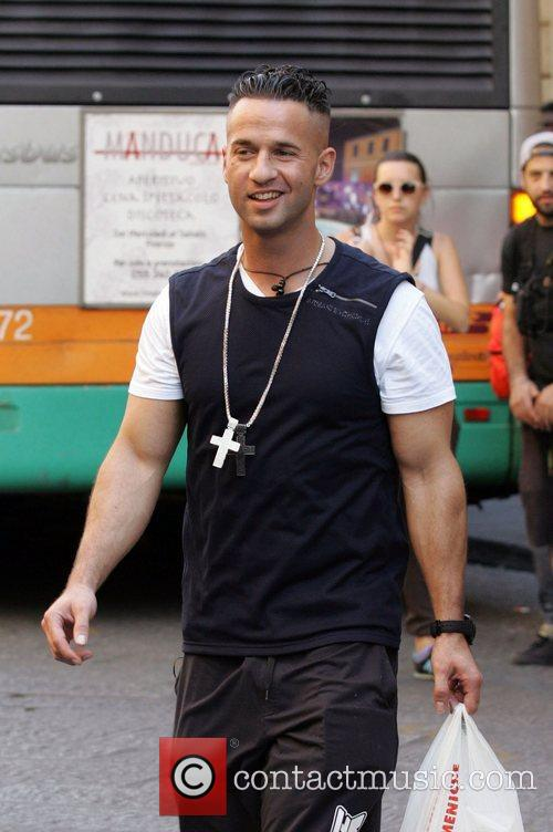 Mike 'The Situation' Sorrentino 'Jersey Shore' cast members...