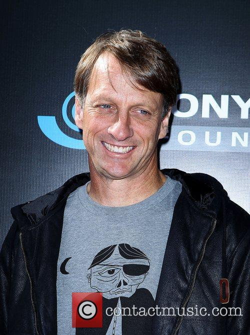 Tony Hawk Stand Up For Skate Parks benefiting...