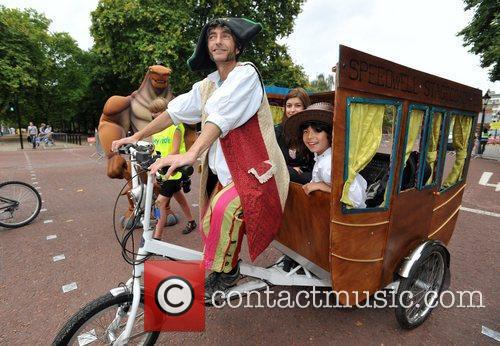 The Mayor of London's Sky Ride held on...