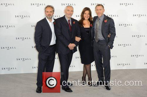 Sam Mendes, Barbara Broccoli and Daniel Craig 1