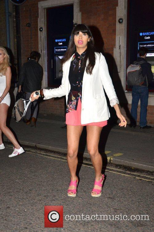Jameela Jamil The Slazenger Party held at The...