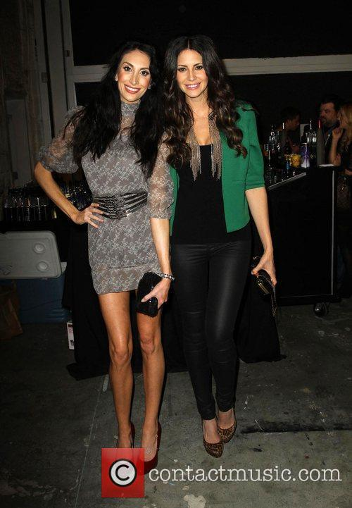 Hope Dworaczyk (R) and Guest Sloane & Tate...