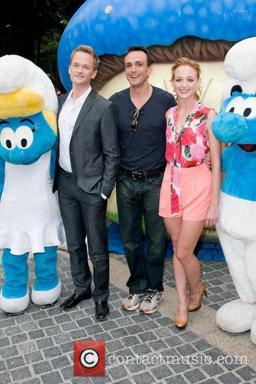 Neil Patrick Harris, Hank Azaria and Jayma Mays 4