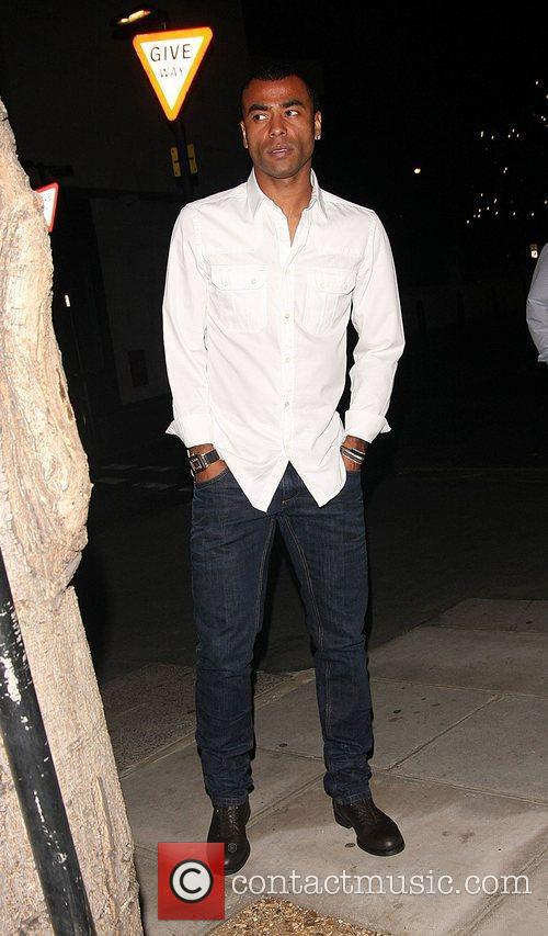 Ashley Cole at the Playboy Club party London,...