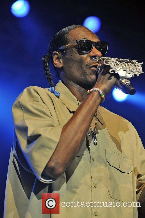 Snoop Dogg launches his new album 'Doggumentary' at...