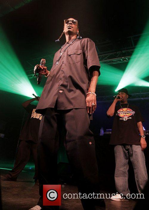 Snoop Dogg performs his new album 'Doggumentary' tour...
