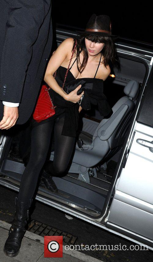 Daisy Lowe Celebrities attend the Snoop Dogg concert...