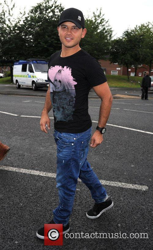 Celebrities attend the Snoop Dogg concert at Manchester's...