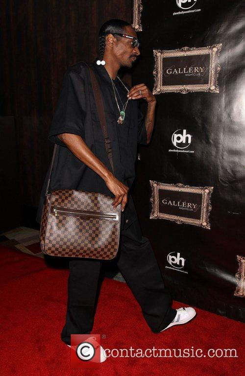 Snoop Dogg walks the red carpet at Gallery...