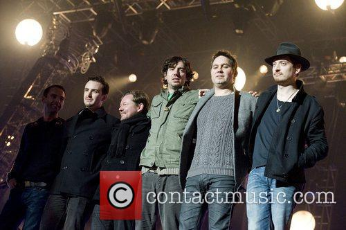 Snow Patrol and Mtv Emas 2
