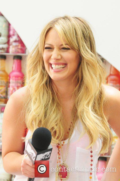 Hilary Duff  at the SoBe 'Try Everything...