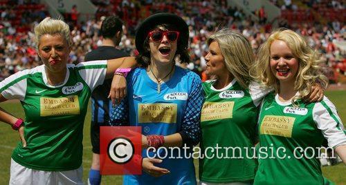 Monkey, Samantha Fox, Shabby and Tina Campbell...