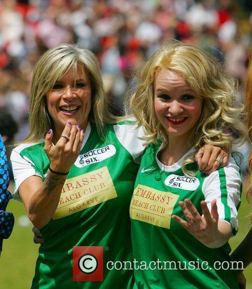 Samantha Fox and Tina Campbell  The Celebrity...