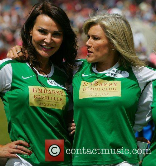 Liz Cundy and Samantha Fox  The Celebrity...