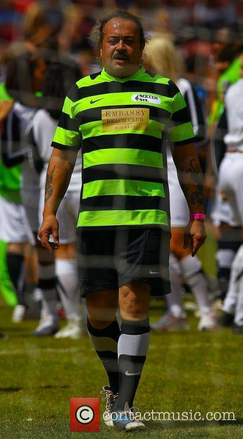 Wagner Carrilho  The Celebrity Soccer Six tournament...