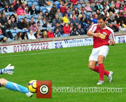 Mark Wright The Celebrity Soccer Six tournament held...