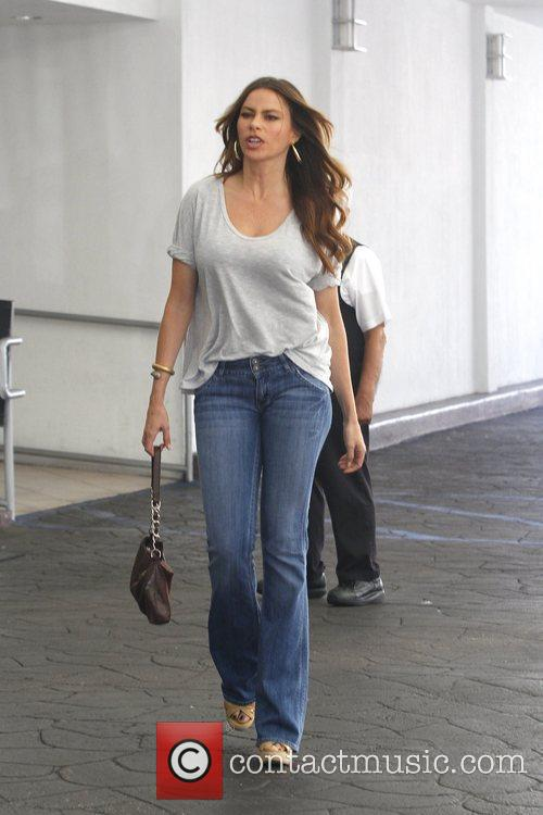 Out and about in Beverly Hills dressed casually...