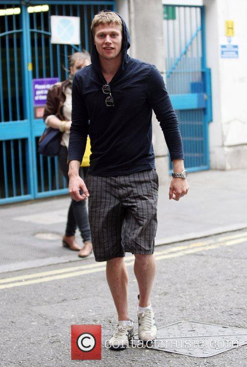 Zach Roerig leaving the SoHo Hotel  London,...