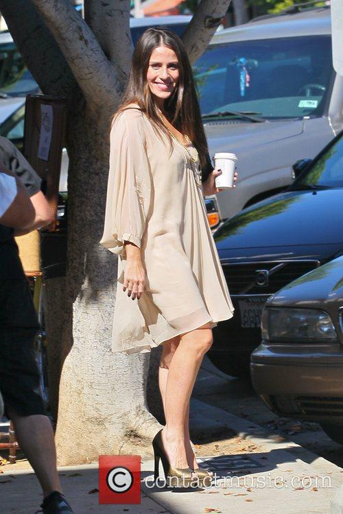 Soleil Moon Frye out shopping in Hollywood Los...
