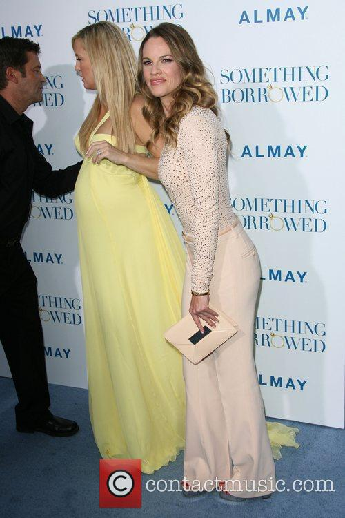 Kate Hudson and Producer Hilary Swank Los Angeles...