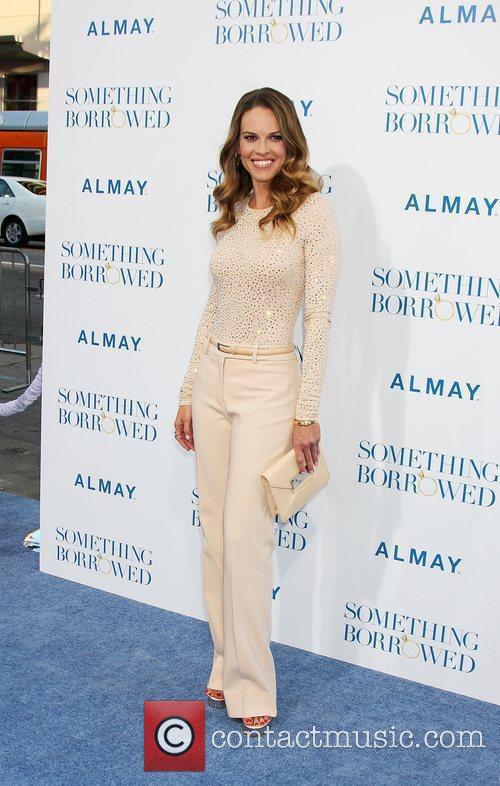 Hilary Swank  Los Angeles Premiere of Something...