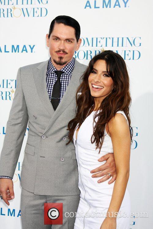 Steve Howey, Sarah Shahi  Los Angeles Premiere...