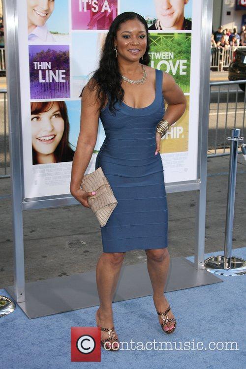 Tamala Jones Los Angeles Premiere of 'Something Borrowed'...