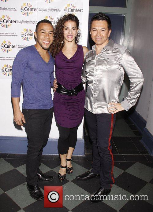Cedric Leiba Jr., Renee Marino and Luis Villabon...