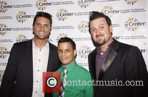 Reichen Lehmkuhl, Neal Bennington and Matt Martin Neal...