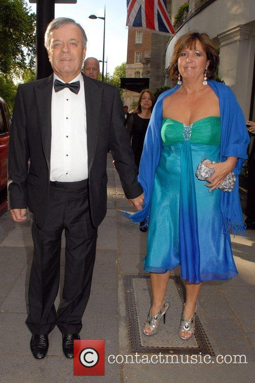 Tony Blackburn and his wife Sony Radio Academy...