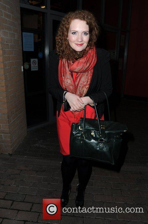 Jenny Mcalpine  arrives at the Contact Theatre...