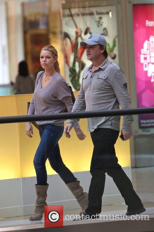 Sophie Monk shops with a friend at the...