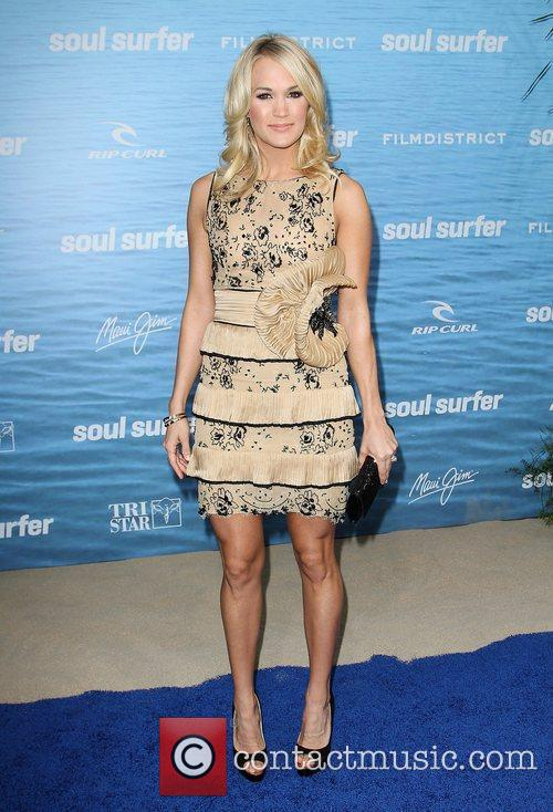 At the Los Angeles premiere of 'Soul Surfer'...