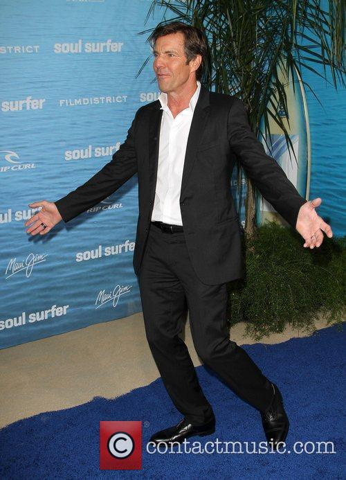 Dennis Quaid at the Los Angeles premiere of...
