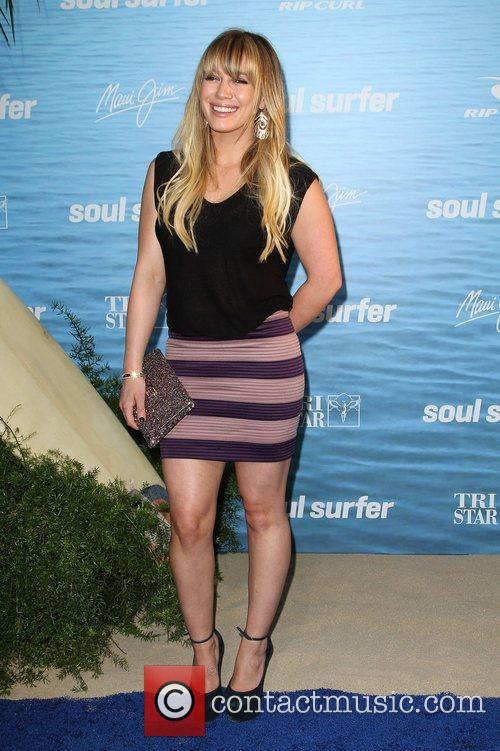 Hilary Duff at the Los Angeles premiere of...