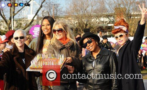 Annie Lennox, VV Brown, Gaby Roslin, Speech Dabelle...