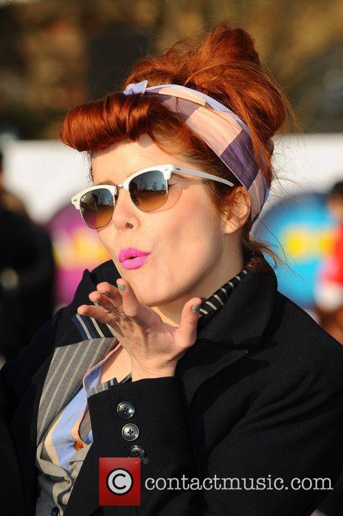Paloma Faith Celebrities dance the 'Soul Train' to...