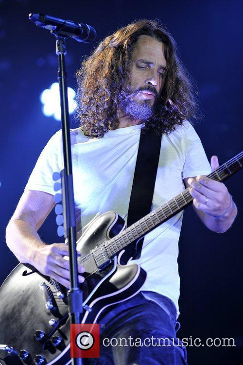 Soundgarden in concert at the UIC Pavilion in...