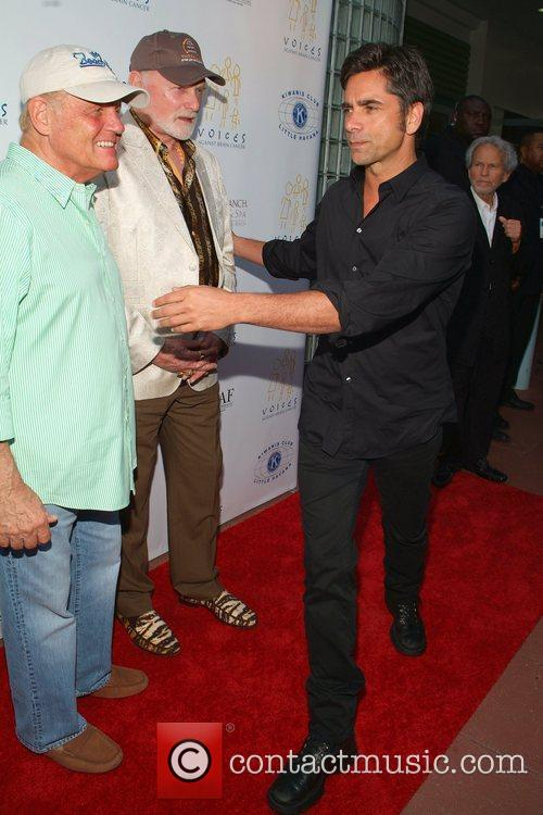 Bruce Johnston, Mike Love and John Stamos First...